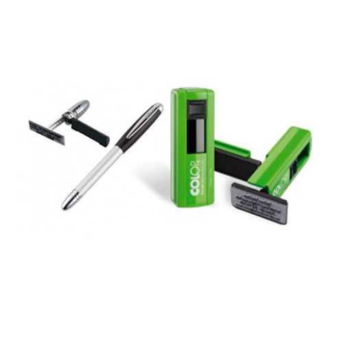 penna timbro tascabile